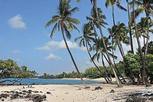 Mahaiula Bay Beach, Kailua Kona
