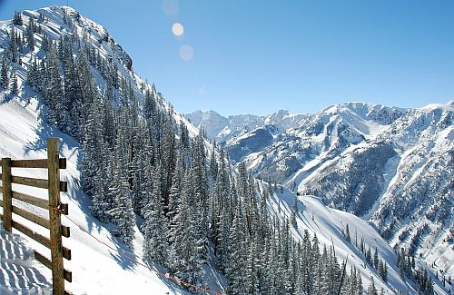 Skiing, Aspen, Colorado