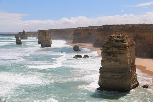 Great Ocean Road near Melbourne, Australia